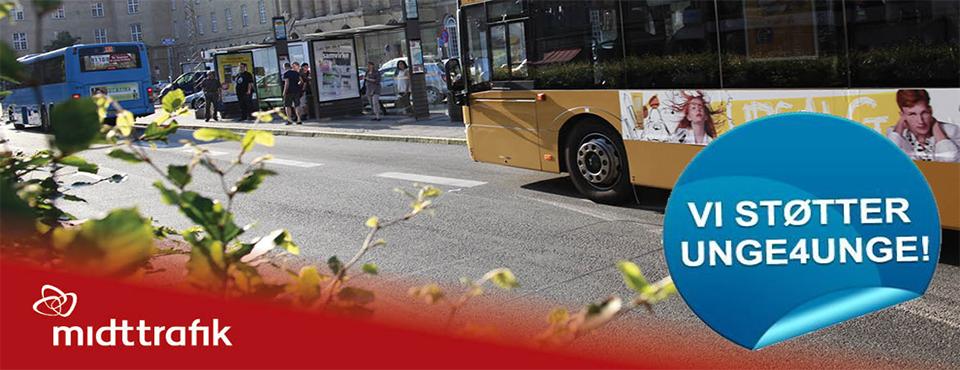 Midttrafik viser et socialt ansvar - sammen skaber vi tryghed i hele byen